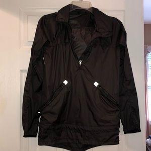 black lululemon raincoat size 2/4